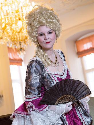 Gräfin Marie Esther Polyxena von Wurmbrand-Stuppach im Schloss Berleburg