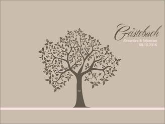 Gästebuch Hochzeit Wedding Tree