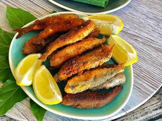 Frittierte Sardellen | Hamsi - tuerkisches Pfannengericht