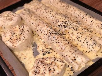 Schnelle tuerkische Boerek mit Kartoffeln und Hackfleisch l Fingerfood Boerek