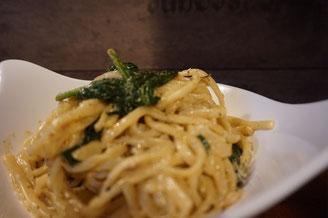 Butter Pasta mit Zitrone - Thymian - Spinat | schnelles Abendessen