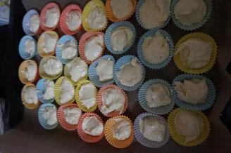 Rezept saftige Mini Vanille Muffins