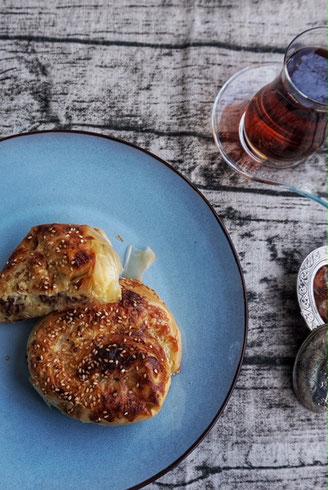 das einfachste Boerek Rezept der Welt mit Hackfleisch aus Filoteig l gelingt garantiert