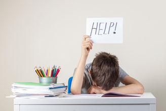 Enfant en difficultés scolaires au niveau des apprentissages, sûrement en lien avec des réflexes archaïques encore actifs ou insuffisamment intégrés