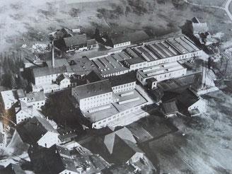 Fabrik Moos AG Luftaufnahme