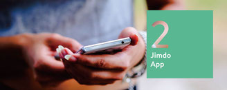 Jimdoアプリ
