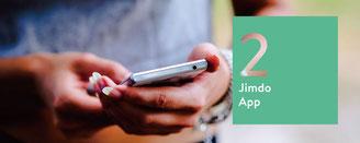 こんな時、Jimdoアプリが役に立ちます!