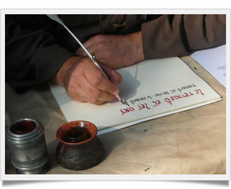 calligraphie correze