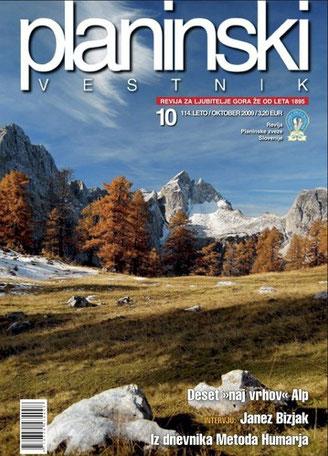 Julische Alpen, Jalovec, Tamar, Planica