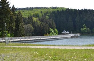 Bild: Teichler Wünschendorf Talsperre