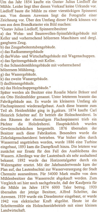 Bild: Teichler Schrötermühle Wünschendorf
