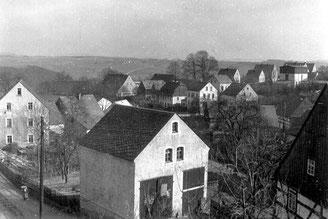 Bild: Teichler Wünschendorf Armenhaus Erzgebirge 1925