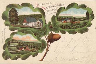 Bild: Teichler Wünschendorf Erzgebirge Buschmühle