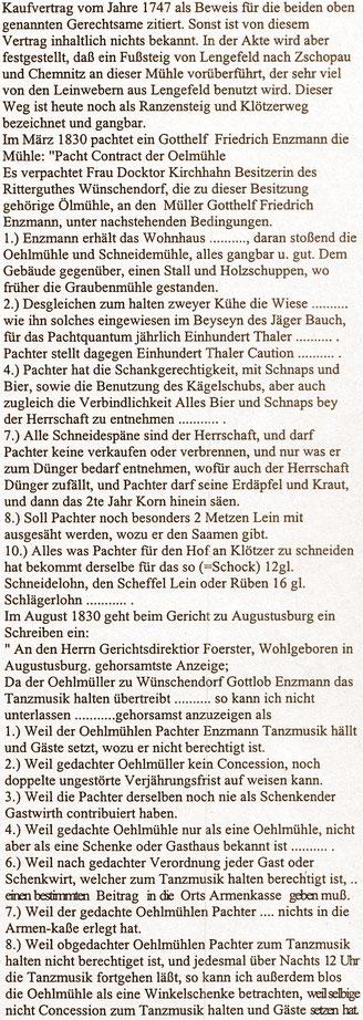 Bild: Teichler Schrötermühle Wünschendorf Erzgebirge