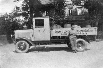 Bild: Robert Weber Wünschendorf 1. LKW