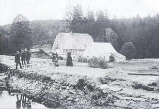 Bild: Wünschendorf Erzgebirge Buschmühle Heinzewald