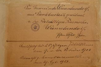 Bild:Wünschendorf Erzgebirge Feuerewehr