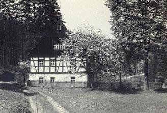 Bild: Wünschendorf Teichler Erzgebirge Neunzehnhain Fachwerkhaus