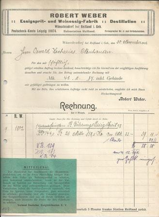 Bild: Wünschendorf Robert Weber 1916