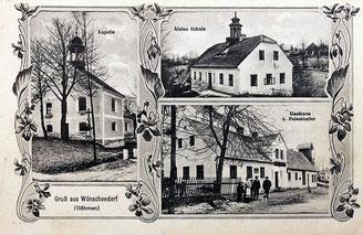 Bild: Wünschendorf Böhmen Srbská