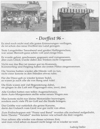 Bild: Wünschendorf Erzgebirge Dorffest 1996