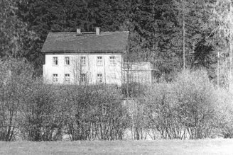 Bild: Teichler Rotes Haus Wünschendorf Erzgbirge 1960