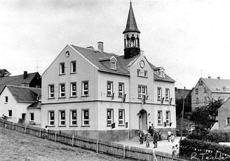 Bild: Wünschendorf Erzgebirge Schule 1975