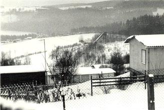 Bild: Teichler Wünschendorf Erzgebirge Schanzen