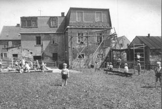 Bild:Teichler Wünschendorf Erzgebirge Kindergarten