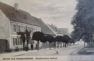 Bild: Teichler Wünschendorf Klobikau Postkarte 1910