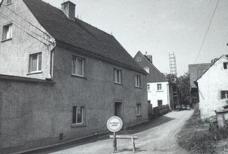Bild: Wünschendorf Bäckerei Lößer 1971