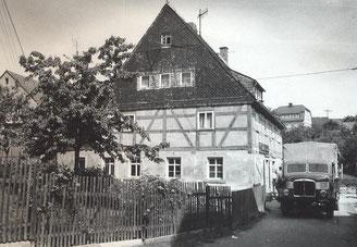 Bold: Wünschendorf Erzgebirge Konsum DDR 1972