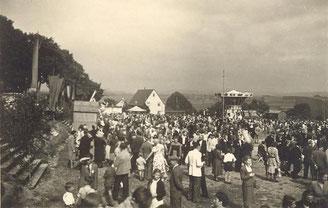 Bild: Wünschendorf Erzgebirge Schul und Heimatfest 1952