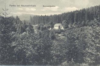 Bild: Teichler Wünschendorf Bornwald 1911