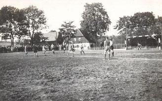 Bild: Teichler Wünschendorf Erzgebirge Handball 1935