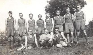 Bild: Teichler Wünschendorf Erzgebirge Handballmannschasft