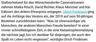 Bild: Wünschendorf Ehrenpreis 2018