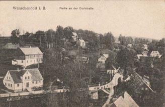 Bild: Srbská Wünschendorf Böhmen 1925 Srbská
