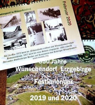 Bild: Festkalender 650 Jahre Wünschendorf Erzgebirge