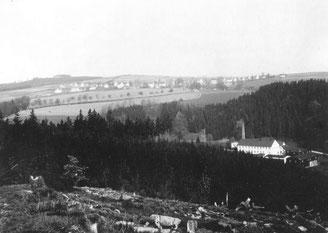 Bild: Teichler Wünschendorf Erzgebirge alte Seifertmühle um 1930