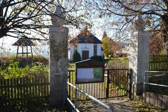 Bild: Friedhof Wünschendorf Erzgebirge