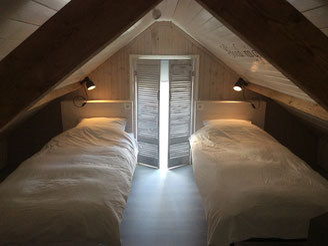 Slapen in Oostvoorne, zakelijk overnachten Oostvoorne. Westvoorne. Vakantiehuisje aan zee.