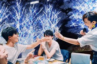 東京ガーデンテラス紀尾井町イルミネーション&ツリー、食事をしながらミュージカルライブ! ジョワーヌ東京