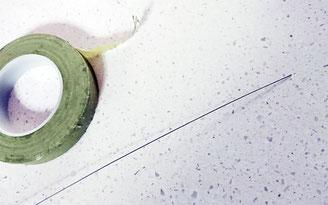 フローラルテープと針金