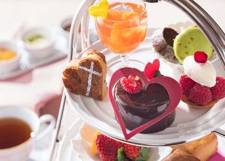 横浜ベイホテル東急でチョコスイーツを楽しむ「バレンタイン アフタヌーンティー」 ジョワーヌ東京