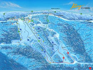 Ski Areal Klíny