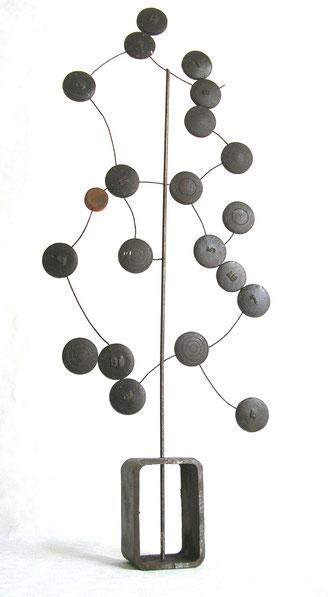 Galets d'acier - 75 x 30 x 10 - 2007