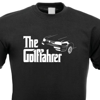 VW Golf 3 MK3 Tuning T-Shirt,The Golffahrer
