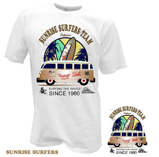 VW Bulli T1 Samba Surf Bus T-Shirt
