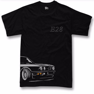 T-shirt for bmw e28 fans m5 520 525 t shirt + Langarm